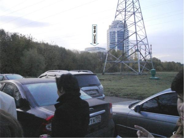 7 часов утра. Хвост очереди. Вдалеке виднеется вожделенное здание МИФНС №46 по г. Москве